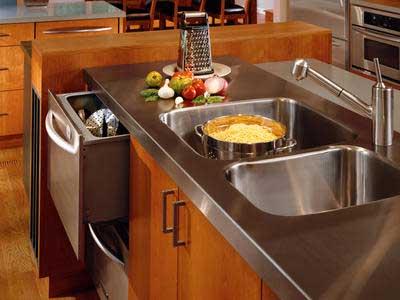 Dekorasi Dapur – Area Memasak dan Mencuci Piring