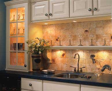 desain interior - tata pencahayaan dapur