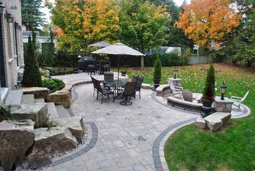 desain interior halaman belakang rumah